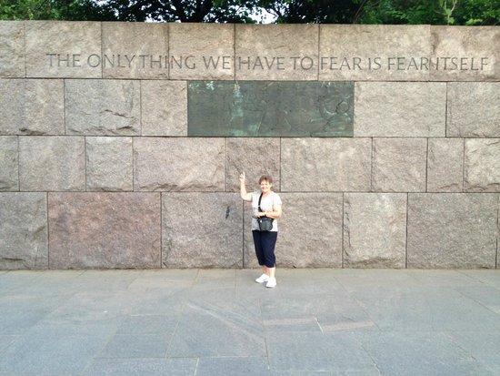 Franklin Delano Roosevelt Memorial: Absolutely
