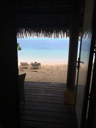 Relais Mahana : Vista desde La habitación