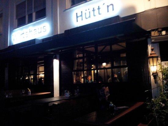 Hutt'n Essen & Trinken: La devanture