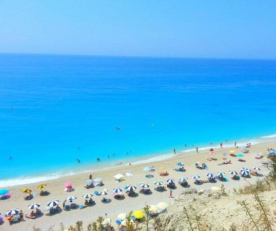 Plage d'Egremni : Η μαγική παραλία στους Εγκρεμνούς