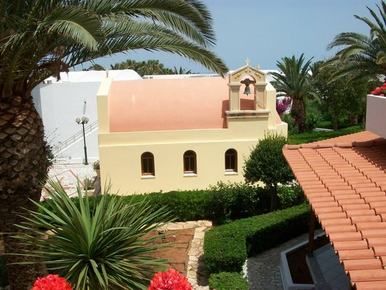 AKS Annabelle Beach Resort : Small Orthodox church in gardens. very pretty.