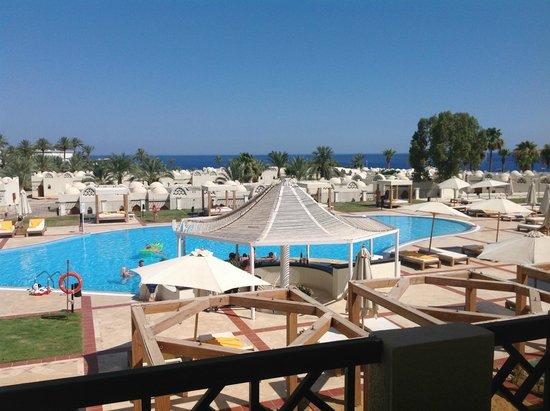 Reef Oasis Beach Resort : Вид из окна номера 7235