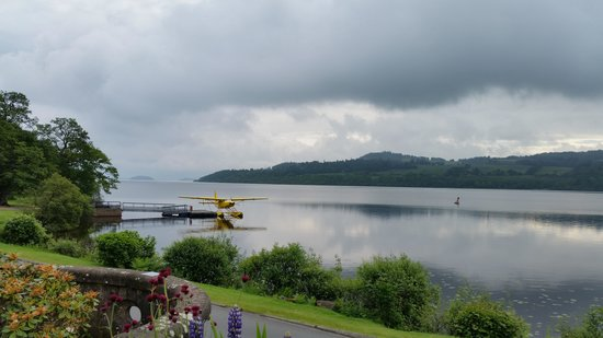 Cameron House on Loch Lomond : View of The Loch & Sea Plane