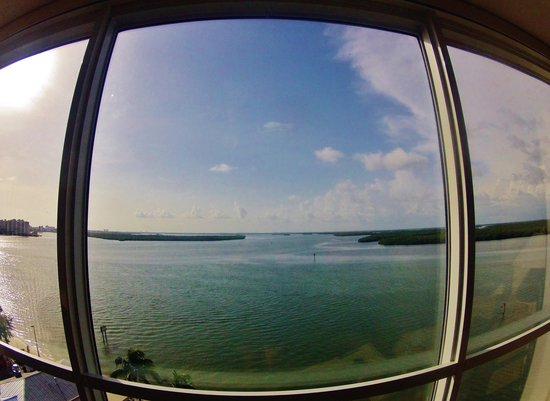 Lovers Key Resort: View from the window of 805