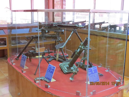 Hall of Fame: Weapons captured by the Indian Army