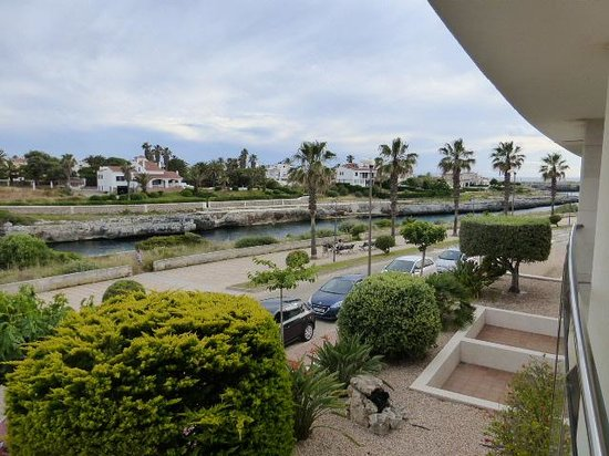 Port Ciutadella: View from balcony