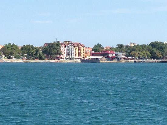 Hotel & Spa Saint George: Hotel from the sea