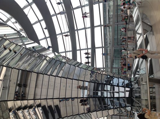 Reichstag Building: Inside the copula