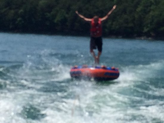 Huddleston, Virginie : Tubing fun