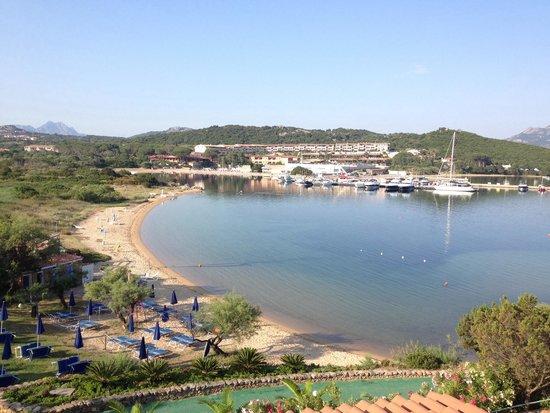 Park Hotel Resort : Veduta della baia dalla terrazza del ristorante