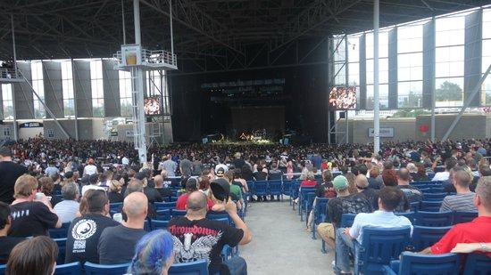 Outside view - Picture of Molson Amphitheatre, Toronto ...