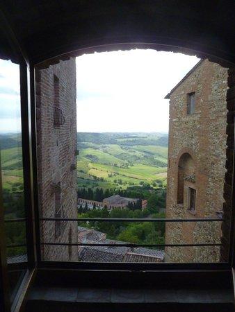 Osteria del Borgo: view from room