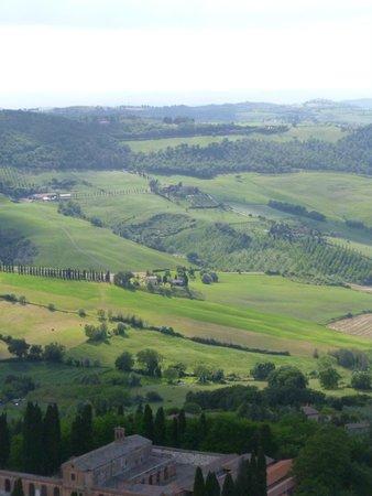 Osteria del Borgo: view from room window