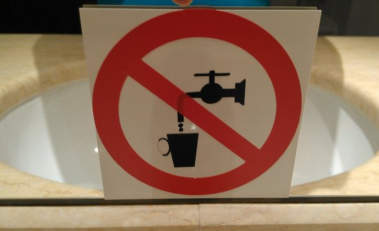 angelo by Vienna House Bucharest: do not drink water