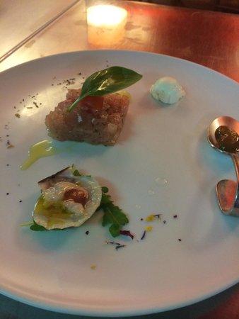 Albergo Trattoria Alle Castrette Restaurant: Tartare .....