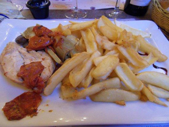 La Scala: Chicken fillet
