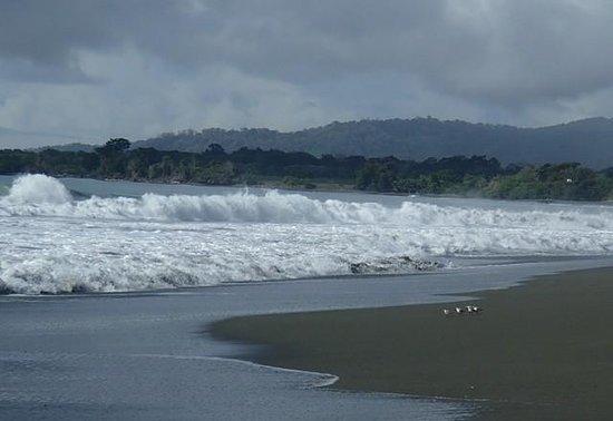 Agua Dulce Beach Resort: Morning waves