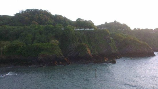 Combe Martin Beach Holiday Park: Our caravan was the second to the end. Great views.