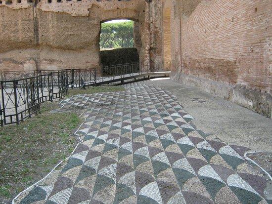 Thermes de Caracalla : Terme Di Caracalla mosaics