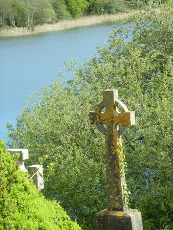 County Down, UK: Celtic cross