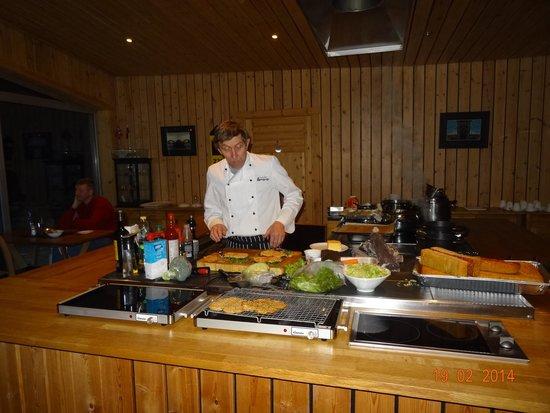 Sollia Gjestegard: Einvind, the very accomplished chef