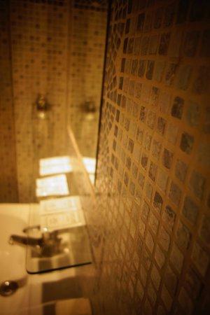 Hotel Midi-Zuid: La salle de bain