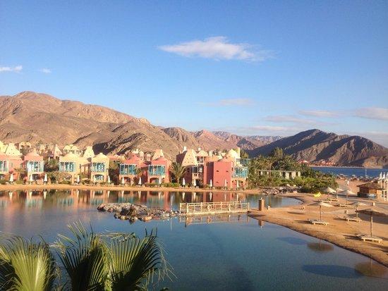 Miramar Resort Taba Heights : Blick vom Zimmer auf Lagune