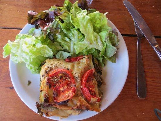 La Bergerie d'Acciola : lasagne au bruccio