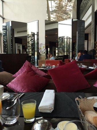 Sofitel Casablanca Tour Blanche: desayuno