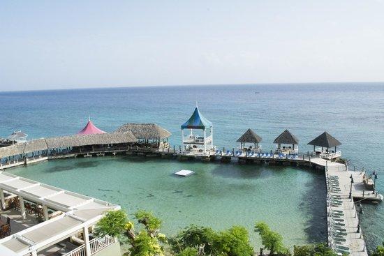Sandals Ochi Beach Resort: View from room