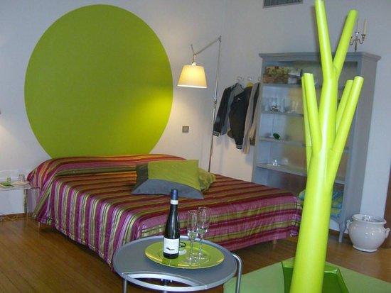 La Terrazza Sulle Torri: Chambre  avec  acceuil champagnisé