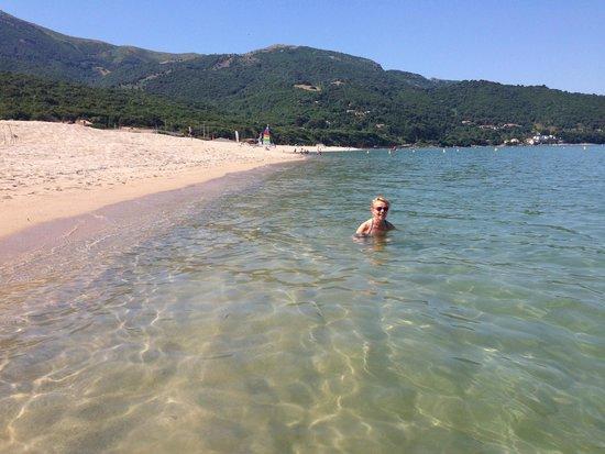 Club Marmara Grand Bleu : Vite dans l'eau.........