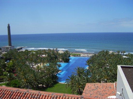Lopesan Costa Meloneras Resort, Spa & Casino: Vistas desde las torres