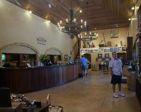Seghesio Family Vineyards : Inside view