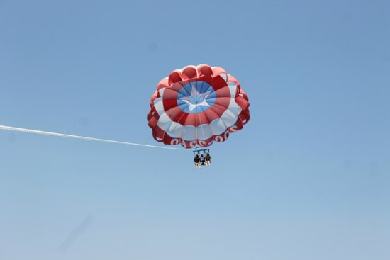 Just Chute Me Parasail: Flying High above Destin's emerald waters