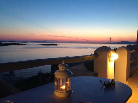 Golden Star Hotel : Il tramonto