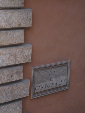 Campo Marzio Luxury Suites: From my window