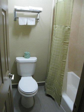 Travel Inn & Suites Flemington: New Bathrooms