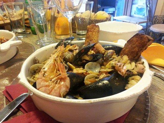 Bar Osteria Bacicio: zuppa ai frutti di mare