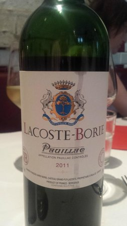 Restaurant Bistrot Le Cochon Volant : Great local wines