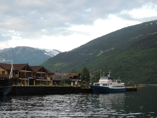 The Flam Railway : Flam Harbour