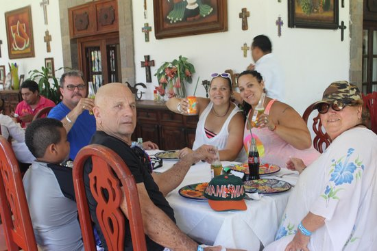 Safe Tours Cozumel: Lunch at Casa Mision
