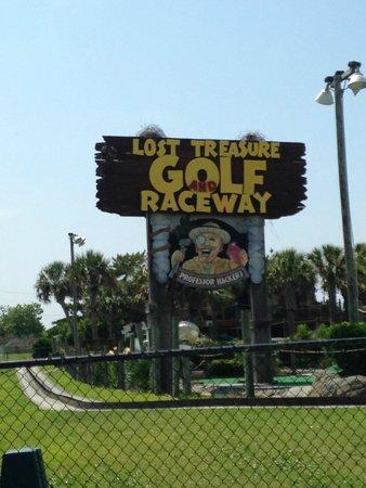 Professor Hacker's Lost Treasure Golf and Raceway: Lost Treasure Park