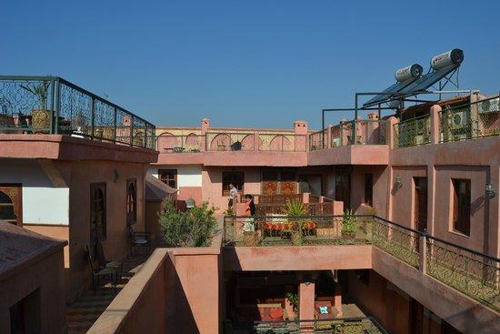 Riad Amssaffah: Ultimo piano e terrazza