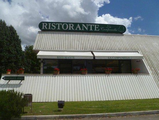 Ristorante la Campanella: restaurant exterior