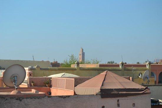 Riad Amssaffah: Vista Koutubia