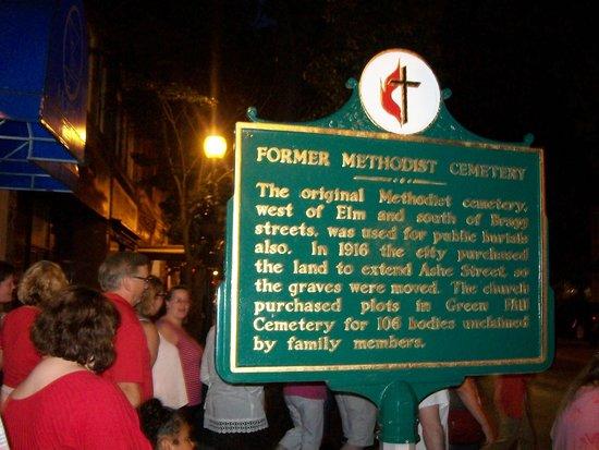 Carolina History & Haunts: Information about former graveyard
