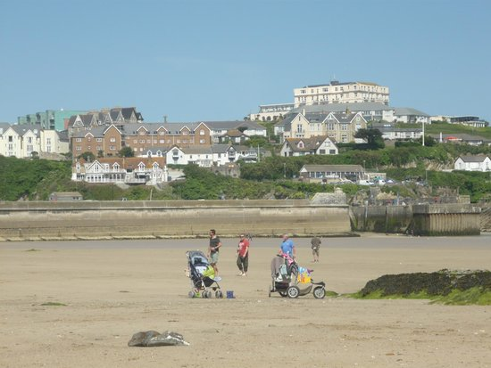 Bay Beresford Hotel: newquay beach(one of them)