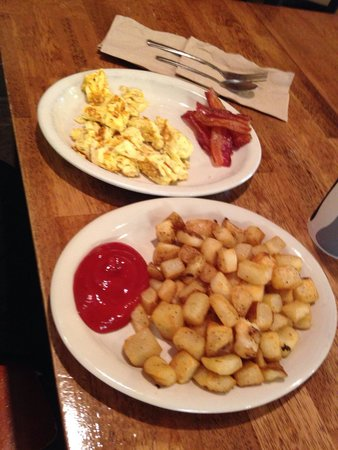 Maple Street Biscuit Company- San Marco: Eggs scrambled & side of bacon