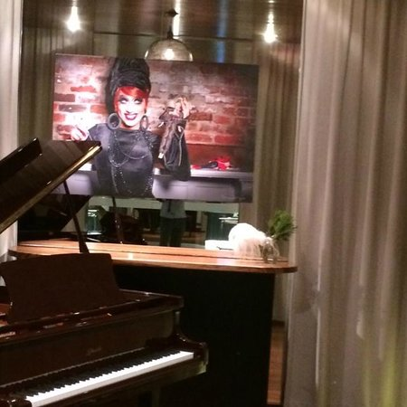 Cachet Boutique: Piano Room